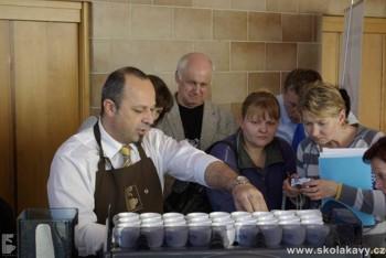 Workshop sekce Mistr kávy CBA