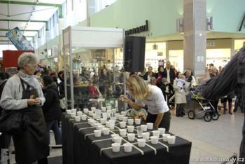 soutěž Coffee Tasting se těšila velkému zájmu