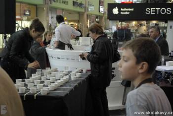 soutěž Coffee Tasting v CČM