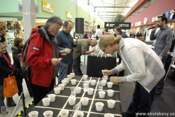 degustace kávy - Coffee Tasting
