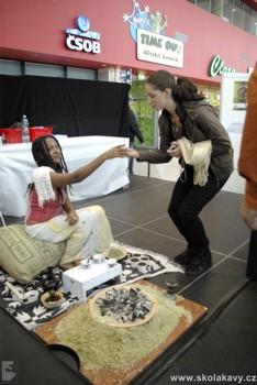 o pravou etiopskou kávu byl velký zájem
