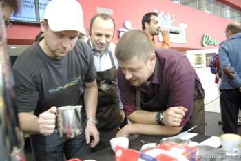 Latte Art pod vedením Franty Roháčka, letošního mistra republiky v této technice