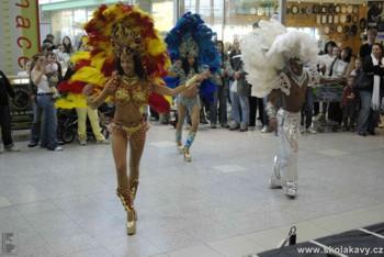 Brazilští tanečníci předvedli Salsu a Sambu
