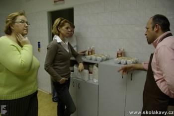 konzultace nad vzorky cappuccin