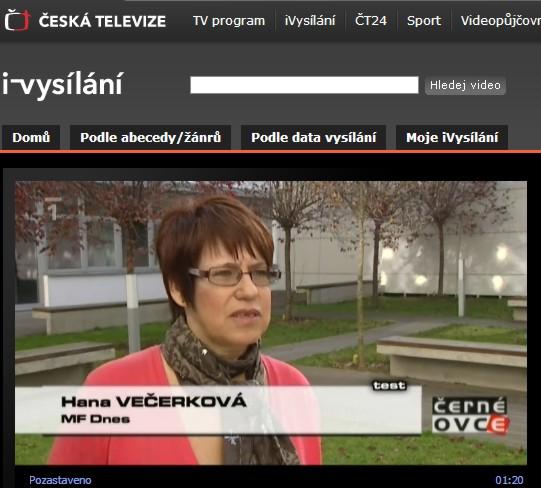 Hana Večerková - MF DNES
