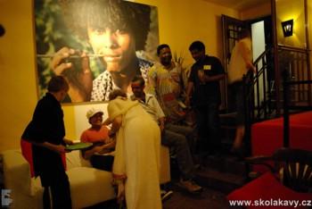 Ethiopia café a její hosté