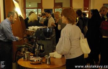 Škola kávy ve fy. Moser
