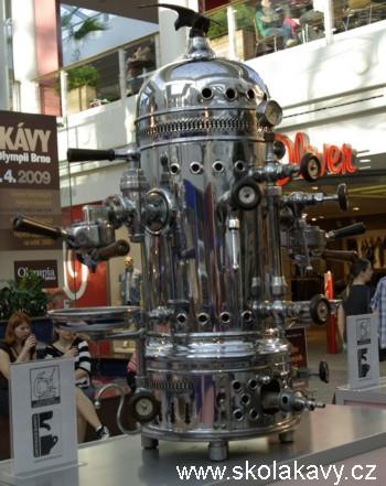 Sbírka historických kávovarů