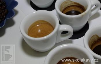 Degustce kávy