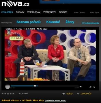 Michal, Štěpánka a Roberto