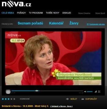 Štěpánka Havrlíková - koordinátor soutěží baristů ČR