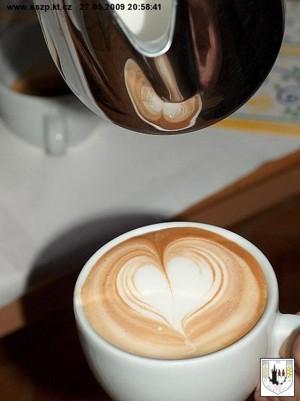 prezentace techniky Latte Art