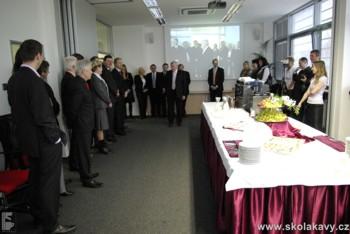 Slavnostní otevření zahájil majitel společnosti