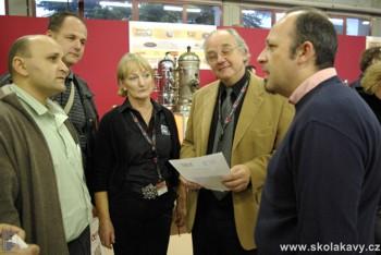Setkání s přáteli - Triestespresso expo