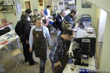 Praktická zkouška - r.2009 -  ještě ve starém školícím centru