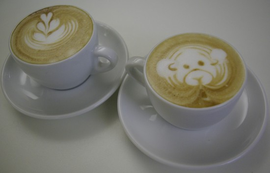 Technika Latte Art