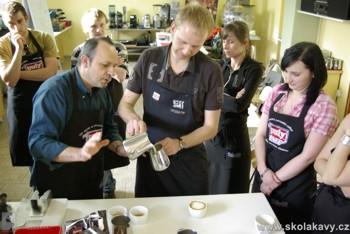 seminář Latte Art