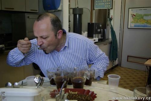 Roberto - degustace ve fy. Pacorini - Itálie