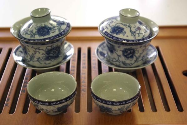 GAIWAN - tradiční příprava polozeleného čaje